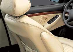 Peugeot 406. На подержанных «четыреста шестых» нередко присутствует люфт в механизме регулировки угла наклона спинок передних кресел.