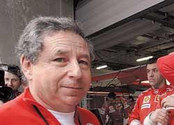 Повезло Жану Тодту – впервые в новейшей истории Ф-1 в зачетной восьмерке оказалось четыре болида, оснащенных моторами Ferrari.