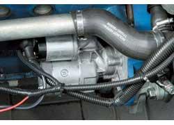 В отличие от 1,3-литрового мотора «Сенса», новый 1,4-литровый двигатель запускает чешский стартер.