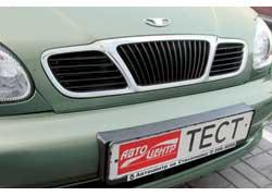 … 1,4-литровые версии планировали продавать как ЗАЗ. Но решетка и эмблема выдают, что автомобиль остался Daewoo …