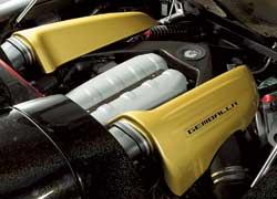 Следуя принципу – мощности никогда не бывает много, стандартный 612-сильный V10 от Porsche получил «допинг» в виде дополнительных 40 л. с. и 10 Нм крутящего момента (теперь он составляет 610 Нм). Время разгона от 0 до 100 км/ч уменьшилось на 0,1 с (до 3,8 с). Сейчас ведутся работы над еще более мощной версией мотора, который предположительно будет развивать 800 л. с.
