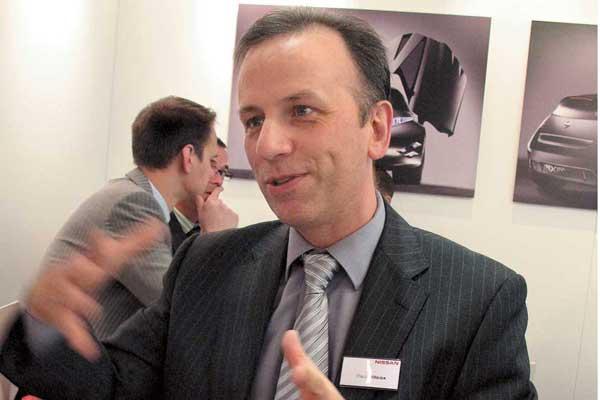 Пол Вилкоксон, вице-президент постратегии и маркетингу Nissan Europe