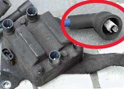 Если высоковольтная часть системы зажигания загрязнена, детали окислены, вероятность отказа системы намного выше.