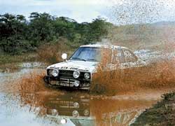 Ford Escort – самая долго-побеждающая (1968–1997 гг.) модель в истории ралли.