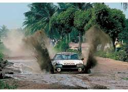 За многочисленные победы на Черном континенте Toyota Celica получила титул «Королева Африки». Rally Bandama, 1979 г.