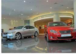 Первый автосалон официального дилера Lexus в Украине – «Лексус Сити Плаза» открылся в Киеве