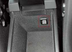 К аудиосистеме Volvo можно подключать внешние носители.