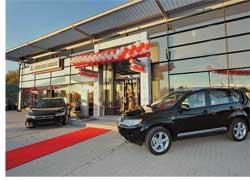 В Запорожье открылся новый концептуальный автосалон компании «Нико-Сич», официального дилера Mitsubishi в Запорожском регионе.