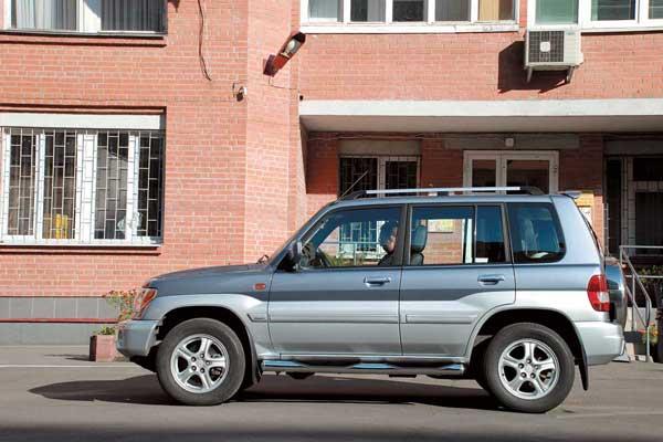 Mitsubishi Pajero Pinin 1998–2005 г. в.
