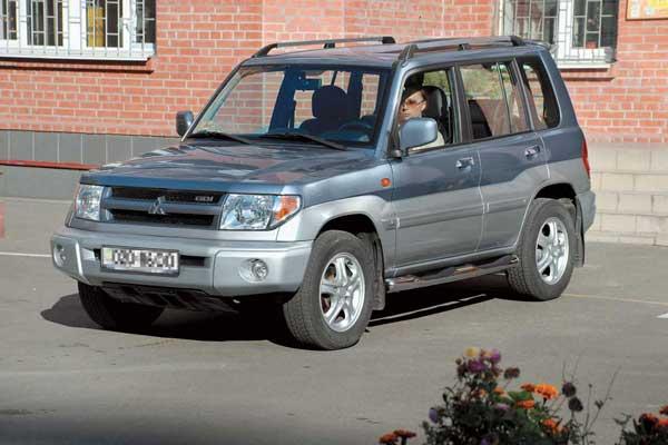 Mitsubishi Pajero Pinin 1998–2005 г. в. От $14000 до $20500
