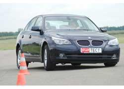 BMW 523i и Volvo S80