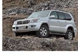 Toyota Land Cruiser Prado  Invincible