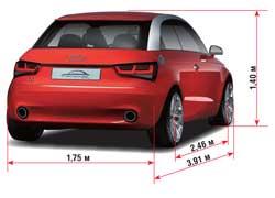 Если концепт-кар от Audi попадет на конвейер, то он станет сильным конкурентом культовому англо-немецкому Mini.
