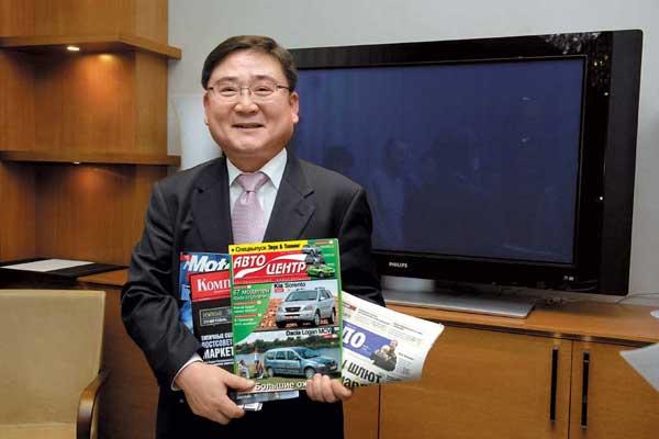Президент Kia Motors Europe Хенк Ли