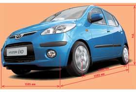 За стилизованным под новый Hyundai i30 передком легко узнается привычный образ Kia Picanto.