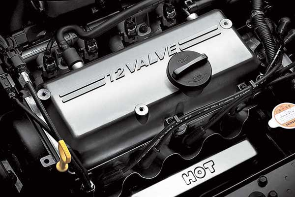 1,1-литровый 12-клапанный «четырехцилиндровик» Hyundai уже хорошо знаком нам по моделям Getz и Kia Picanto.