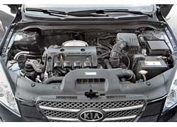 Мотор 1,4 л – изюминка cee`d. Он резвый и экономичный.