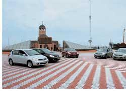 Компания «Ниссан Мотор Украина» объявила об официальном старте продаж в нашей стране автомобиля Nissan Tiida