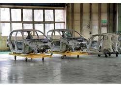 Cпециалисты FSO уже готовят производство трех- и пятидверного хэтчбека Aveo на образцах каркасов кузовов.