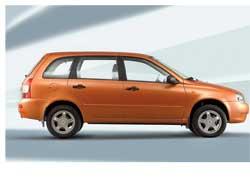 На «АвтоВАЗе» стартовало серийное производство универсала Lada 1117, третьей модели семейства Kalina