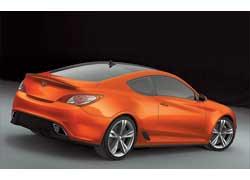 Hyundai представил заднеприводное концептуальное купе Genesis
