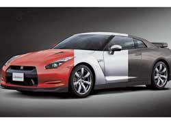 Компания Nissan при создании своих автомобилей решила применить «метод парамагнитной окраски» и избавить потенциальных покупателей от сложностей при выборе цвета железного коня. Ученые разработали краску, благодаря которой перекрашивание машины может производиться нажатием одной кнопки.
