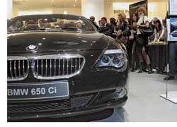 Открытие нового салона BMW в столичном бизнес-центре «Парус»