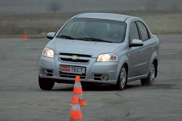 Chevrolet Aveo с мотором 1,6