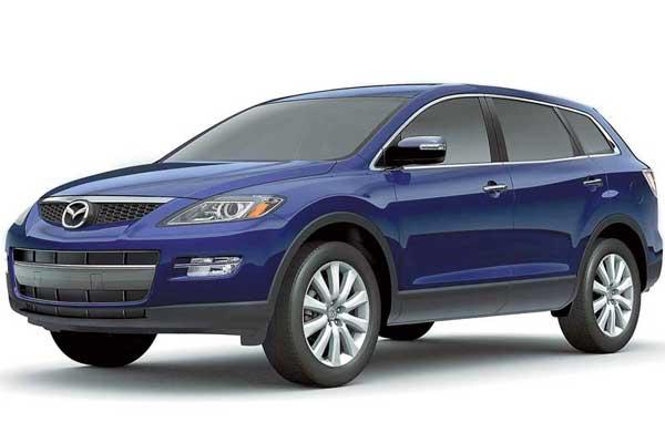 Украина – первая европейская страна, в которую официально будет поставляться Mazda CX-9.