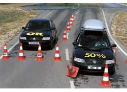 увеличение тормозного пути, особенно на разбитых дорогах...