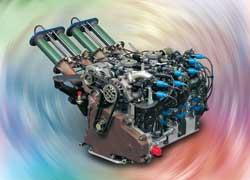 Роторно-поршневой двигатель (РПД)
