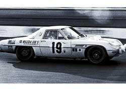 Mazda 110S положила начало серии громких побед роторных японских купе.