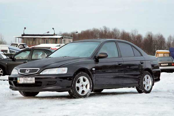 Honda Accord 1998–2002 г. в. от $11500 до $21000