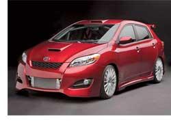 На базе нового поколения Toyota Matrix дизайнеры компании создали «заряженную» модификацию Rally Sport Concept. Модель получила 19-дюймовые диски OZ Racing и серьезный аэродинамический пакет.