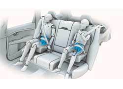 Журнал Popular Science наградил компанию Volvo Cars за инновационную систему дополнительных подушек безопасности для детей. Новая интегрированная подушка с двумя вариантами высоты защищает детей, которые выросли из кресла для малышей.