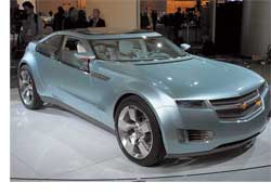 Вице-президент концерна General Motors Боб Лутц заявил, что производство гибридного Chevrolet Volt начнется в 2010 году.