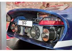 Ателье 9FF представило проект GT9. Мощность этого болида достигает 987 л. с., а максимальная скорость – свыше 400 км/ч.