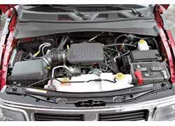 Мотор V6 объемом 3,7 л не очень мощный (205 л. с.), но хорошо тянет с самых низов.