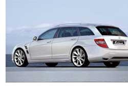 Тюнинговое ателье Lorinser разработало спортпакет для нового универсала Mercedes-Benz C-Klasse.