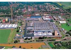 Производственный корпус одной из крупнейших фабрик Европы занимает площадь 16 Га.