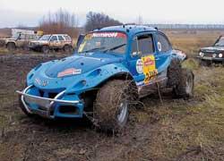 В отличие от летних гонок, в Nemiroff Trophy у моноприводного VW Kafer не было шансов.