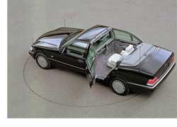 Последний из ландоле– изготовленный в единственном экземпляре длиннобазный Mercedes-Benz S 500 (серия W140).