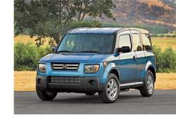 Лучшим авто для перевозки собак по версии американского интернет-журнала Dogcars признан Honda Element.