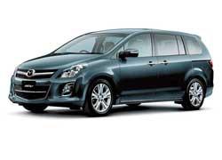 Компания Mazda представила на внутрияпонском рынке обновленную версию довольно большого минивена MPV (в Европе и США не продается).
