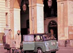 Еще в 1956 году Джакоза создал минивен на базе Fiat 600. Четырехдверный шестиместный однообъемник назывался Fiat 600 Multipla.