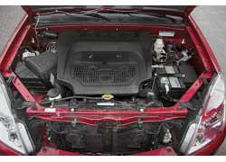 Двигатель с многоточечным впрыском Mitsubishi 4G64 устанавливался на Great Wall Hover и раньше. В новых машинах он закрыт пластиковой крышкой.