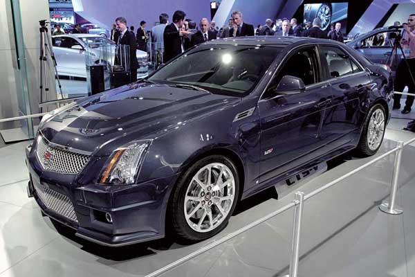 Cadillac CTS-V будет продаваться не только в Америке, но и в Европе.