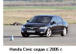 Honda Civic седан с 2005 г.