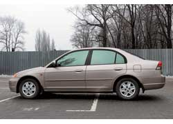 Honda Civic 2001–2005 г. в.