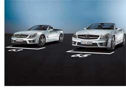 Для состоятельных любителей скорости компания Daimler AG подготовила две экстремальные версии нового купе-кабриолета Mercedes-Benz SL. К их созданию приложили руку инженеры фирменного подразделения AMG.